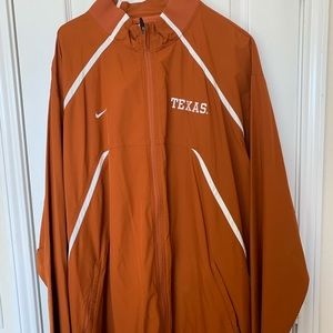 Nike University of Texas windbreaker XXL